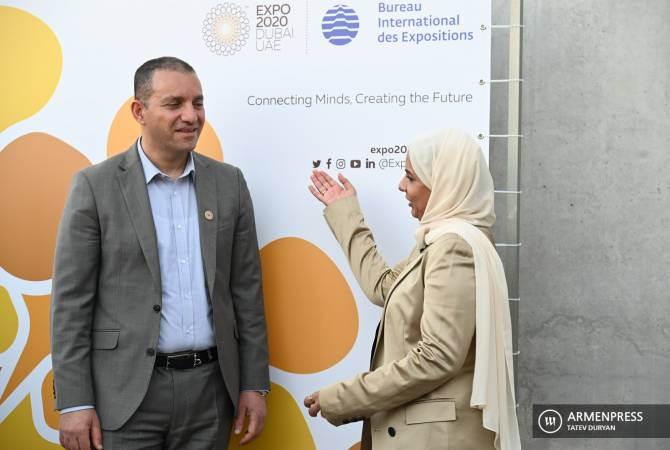 ՀՀ Էկոնոմիկայի նախարարությունը նախատեսում է ավելի ուժեղացնել առևտրային հարաբերությունները ԱՄԷ-ի հետ