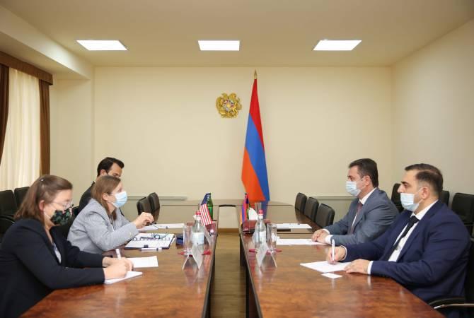 ԱՄՆ-ն պատրաստ է Հայաստանին աջակցել բարձր տեխնոլոգիական ոլորտի ձեռնարկությունների էկոհամակարգ ստեղծելու հարցում