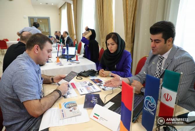 Հայաստան-Իրան բիզնես ֆորումում գործարարները երկուստեք պայմանավորվածություններ ձեռք բերեցին