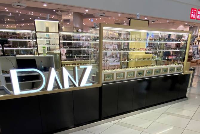 Եվրոպայի ամենամեծ մոլում հայկական «DANZ» ակնոցների վաճառասրահ է բացվել