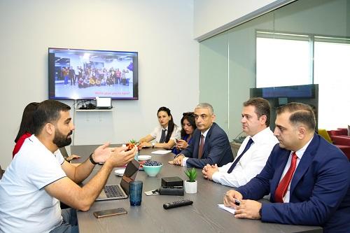 Հայկ Չոբանյանը DISQO ընկերության ղեկավար կազմի հետ քննարկել է հայկական տեխնոլոգիական էկոհամարգ ձևավորելու հնարավորությունը