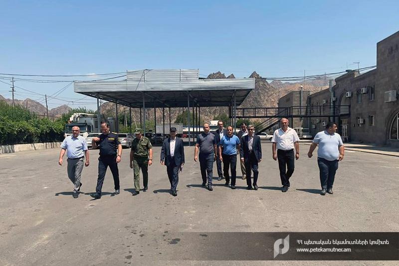 Տտեղի է ունեցել Հայաստանի և Իրանի մաքսային ծառայությունների աշխատակիցների հանդիպումը