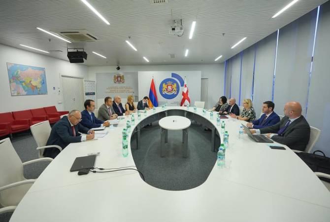 Հայաստանն ու Վրաստանը քննարկում են երկրների միջև արագընթաց գնացքի գործարկման հնարավորությունը
