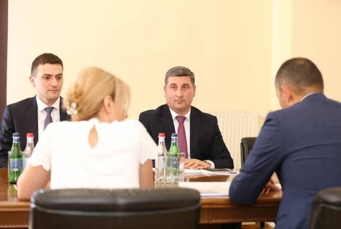 Գնել Սանոսյանն ու Ասեթ Ասավբաևը քննարկել են Հայաստանի և տարածաշրջանային երկրների միջև տրանսպորտային հաղորդակցության զարգացման հնարավորությունները