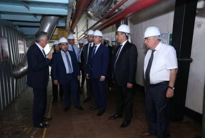 Գնել Սանոսյանն այցելել է Հայկական ատոմային էլեկտրակայան