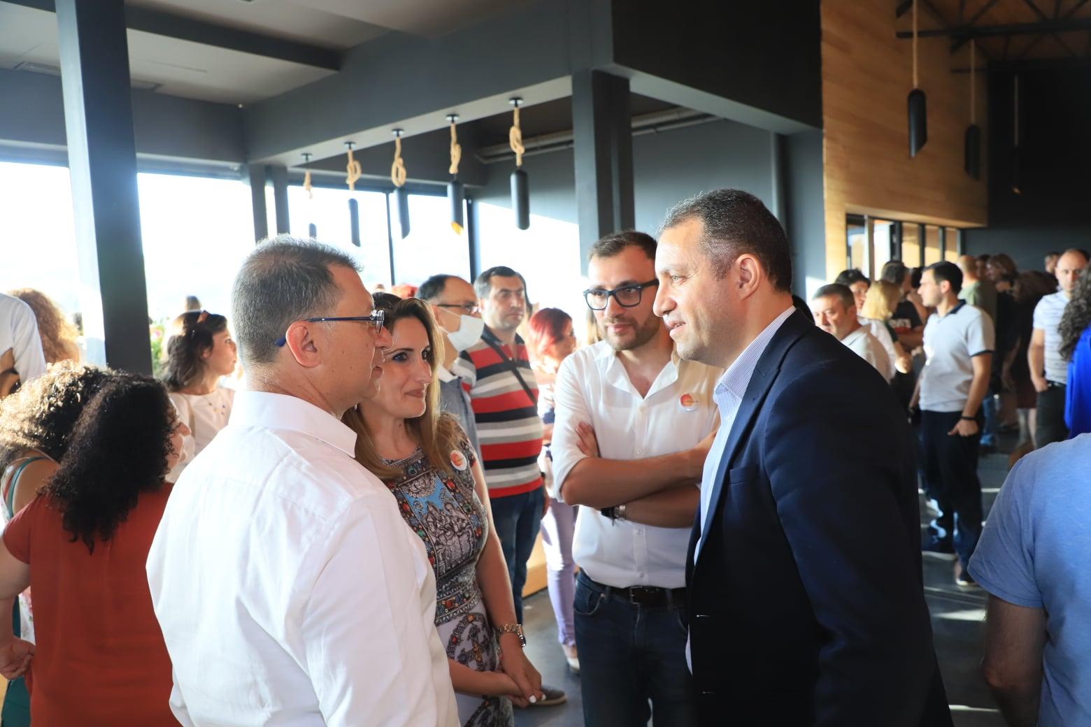 Հայակական արտադրանքը հասանելի է դառնում աշխարհի տարբեր անկյուններում․ Վահան Քերոբյանը մասնակցել է Buy Armenian առցանց վաճառքի հարթակի պաշտոնական մեկնարկին