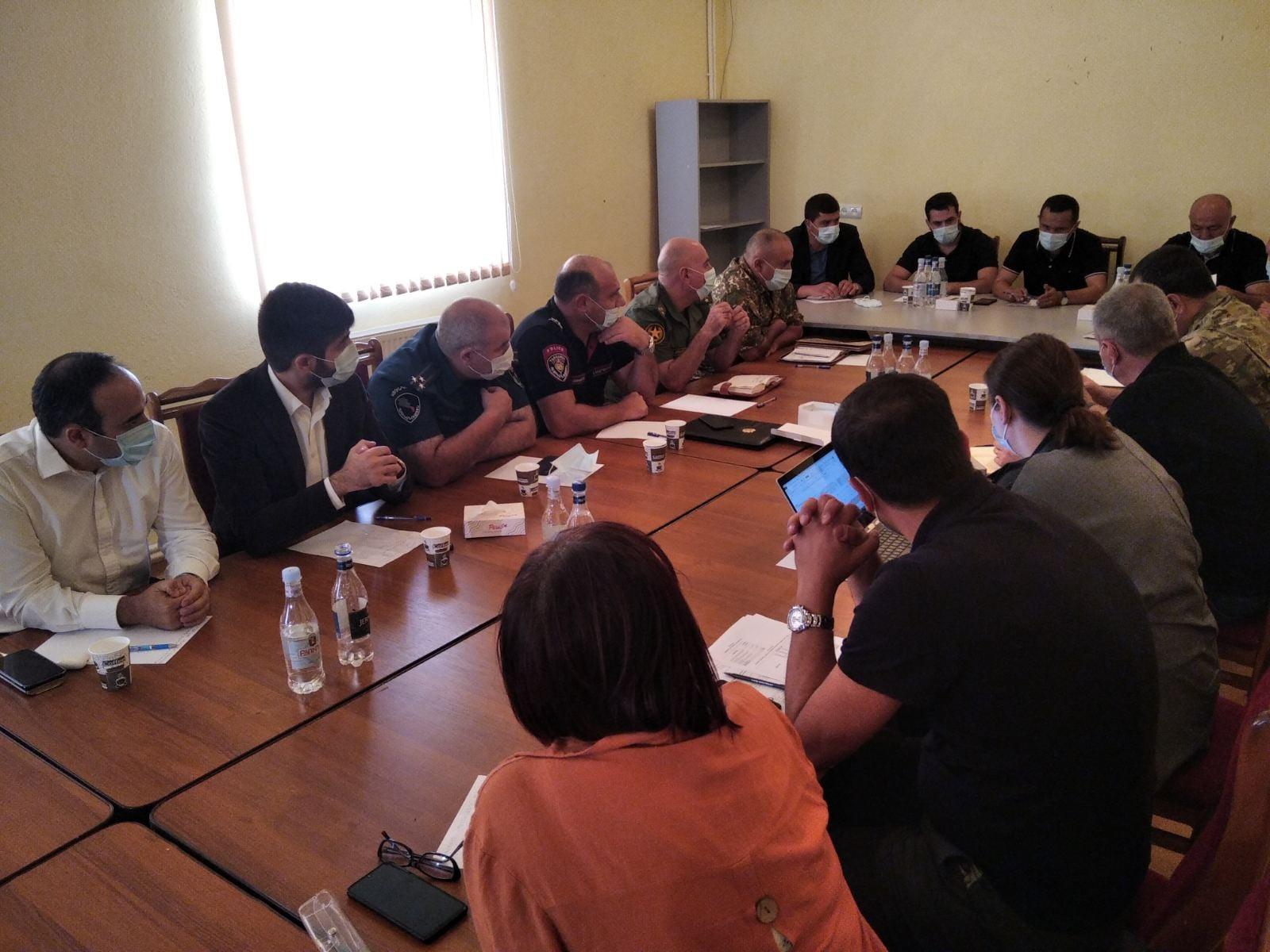 Նախարարի տեղակալ Արման Խոջոյանը մասնակցել է Սյունիքի հարցերով միջգերատեսչական աշխատանքային խմբի հերթական նիստին