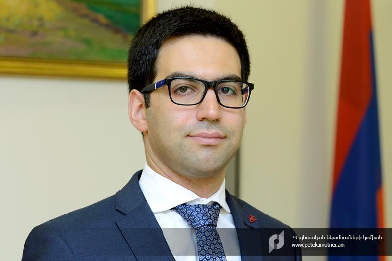 Պետական եկամուտների կոմիտեի նախագահ է նշանակվել   Ռուստամ Բադասյանը