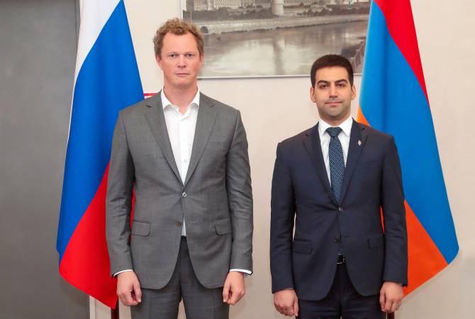 ՀՀ ՊԵԿ նախագահը ՌԴ դաշնային հարկային ծառայության ղեկավարի հետ քննարկել է ոլորտում համագործակցության հարցեր