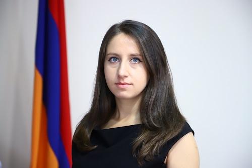 Անի Իսպիրյանը նշանակվել է ՀՀ էկոնոմիկայի նախարարի տեղակալ