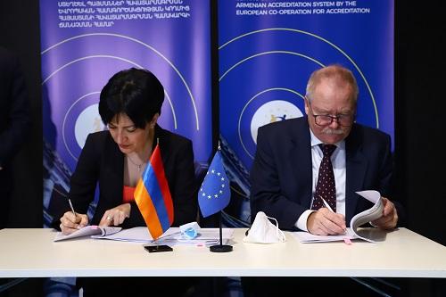 Կայացել է Հայաստանի հավատարմագրման համակարգի զարգացմանն ուղղված Թվինինգ ծրագրի մեկնարկային համաժողովը