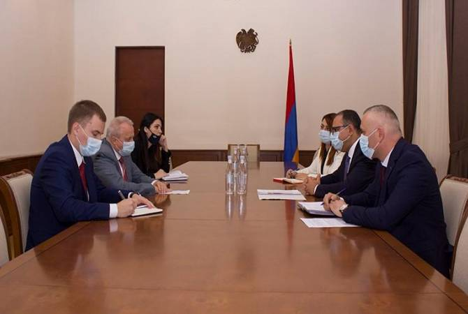 Տիգրան Խաչատրյանն ու Սերգեյ Կոպիրկինը քննարկել են հայ-ռուսական տնտեսական համագործակցությանն առնչվող հարցեր