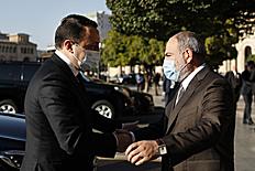 ՀՀ վարչապետը հանդիպում է ունեցել Վրաստանի վարչապետի հետ